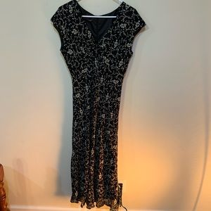 Ladies Jones Wear Dress Sz 10. Lined and flared A4